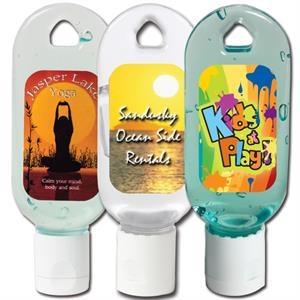 Hand Sanitizing Gel In A 1 Oz. Flip-top Bottle, Made In The U.s.a