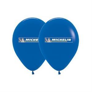 Helium Balloon Latex Imprinted 2 Sides 3 Colors-Metallic