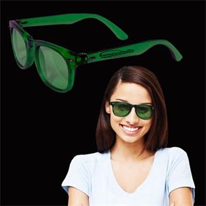 Green Blues Sunglasses