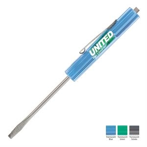 Level-rite (tm) - Pocket Screwdriver With A Built-in Level