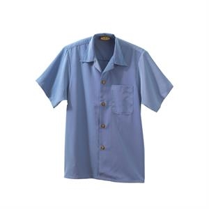 South Sea -  X S- X L - Men's Solid Camp Shirt