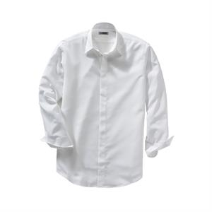 S- X L - Men's Batiste Long Sleeve Cafe Shirt