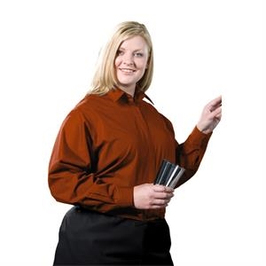 2 X L - Women's Long Sleeve Cafe Shirt