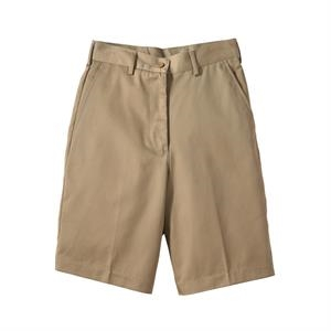 "26w-28w - Women's Utility Flat Front Shorts With 9/9.5"" Inseam"