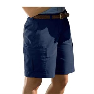 "26w-28w - Women's Cargo Shorts With 9""/9 1/2"" Inseam"