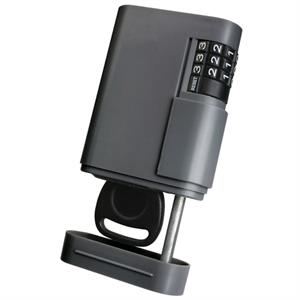 Keysafe (tm);stor-a-key (tm) - Locking Key Case With Resettable Combination And Powerful Magnet