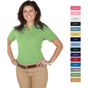 Reebok (r) Superior - Royal - 3 X L - Ladies' 6.8 Oz/ 230gsm 100% Cotton Superior Basic Pique Polo
