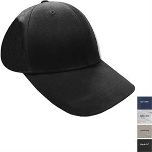 Reebok (r) - Black - 65% Polyester/ 35% Cotton Structured Brushed Twill Cap