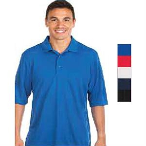 Black - 5.5 Oz/ 185gsm 100% Polyester Solid Polo. Opportunity Buy
