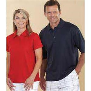 Reebok (r) Playdry (r) - Red - Men's Polyester/spandex Performance Polo Shirt. Opportunity Buy