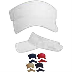 Reebok (r) - White - Mesh Fabric Sport Visor With Fabric Strap. Opportunity Buy
