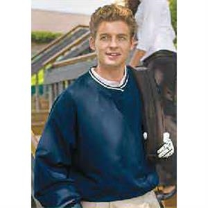 Ryder - Dark Navy - Water And Wind Resistant Polyester Microfiber Windshirt. Opportunity Buy