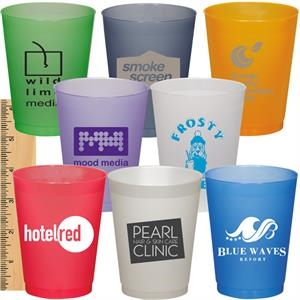 10 Oz Frosted And Flexible Stadium Cup