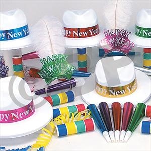 Paradise Bay New Year's Eve Party Kit for 50