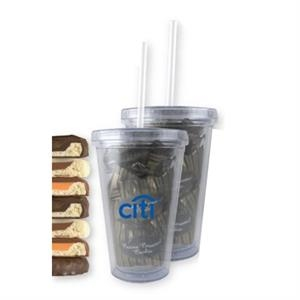 16 oz. Clear Acrylic Tumbler with Fills