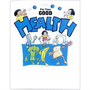 For Your Good Health - Educational Coloring Book With Health Theme, 8 Pages