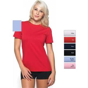 Mesa - 2 X L - Short Sleeve Dri-balance(tm) Stretch Tee, 5.0 Oz Self Fabric Collar Cap