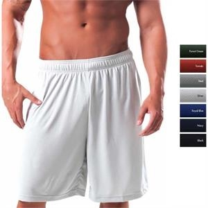 Hawk -  X S- X L - Jacquard Textured Syntrel(tm) 100% Microfiber Polyester Training Shorts