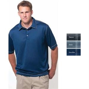 Key West - 2 X L - Short Sleeve Syntrel(tm) 100% Microfiber Polyester Polo