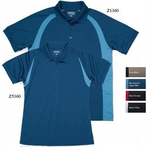 Plantation - 4 X L - Curved Color Block Golf Shirt, 100% Polyester