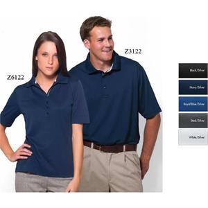 Cobblestone - 2 X L - Short Sleeve Syntrel(tm) Popcorn Polo