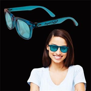 Blue Colored Blues Sunglasses