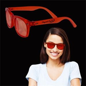 Red Colored Blues Sunglasses