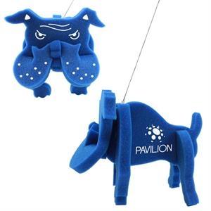 Foam Bull Dog Toy Novelty