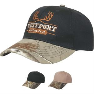 Camouflage Series - Medium Profile Six Panel Structured Camouflage Visor Cap
