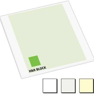 "25 Sheet Count - Earth Friendly 3"" X 3"" Adhesive Notes Available With 100% Recycled Paper"