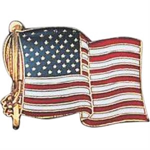 Flag - Usa - Stock Pins