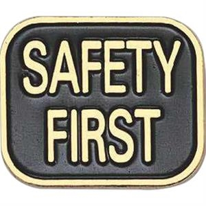 Safety First Badge - Stock Pins