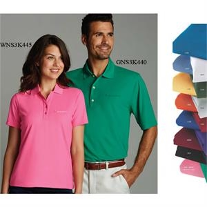 Greg Norman Collection Play Dry (r) - 3 X L - Women's Mesh Polo Features 100% Polyester And Upf 50+