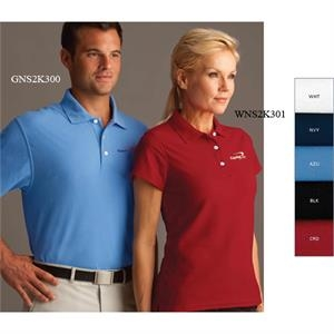 Greg Norman Collection - 2 X L - Women's Pique Polo Shirt Features 60% Cotton/40% Polyester