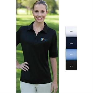 Izod - 2 X L - Women's Solid Jersey Polo Shirt