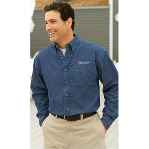 Woodbridge - 2 X T - 6 1/2 Oz. Authentic Enzyme Washed Denim Shirt