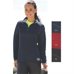 Vansport (tm) - S -  X L - Women's Performance Pullover Made Of 100% Polyester, 6 3/4 Oz Twill Knit