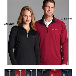 Greg Norman Play Dry (r) - 2 X L - Women's 1/4 Zip Active Pullover With Reflective Taping