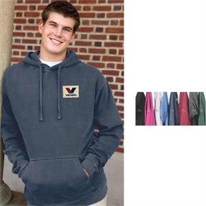 2 X L-3 X L - Color Wash Fleece Pullover Hoodie