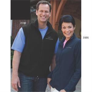 Pioneer Vantek (tm) - 2 X L-3 X L - Women's Fleece Jacket Made Of 100% Polyester; 5 1/2 Oz