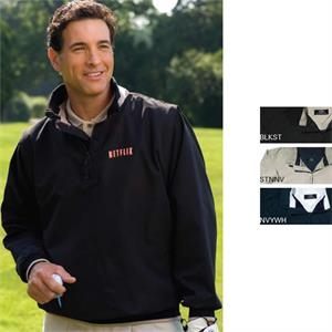 X S- X L - Convertible Windshirt With Zip Off Sleeves That Convert Windshirt To A Vest