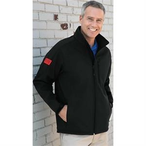 Quantum Zocket (tm) Vantek (tm) - 2 X L-3 X L - 100% Polyester Poplin Bonded Jacket With Fleece