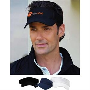 Vansport (tm) - Mesh Visor Cap Made Of 100% Polyester