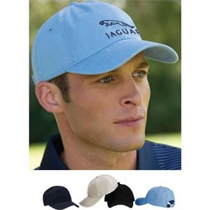 Greg Norman - Classic Cap Features 100% Cotton Twill; Unconstructed