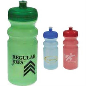 20 Oz Water Bottle With Push Pull Lid