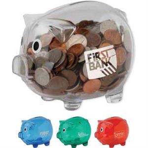 Piggy Bank With Bottom Twist-lock Plug
