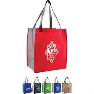 Habitat - 80gsm Non-woven Bag With Contrasting Color Scheme On Handles