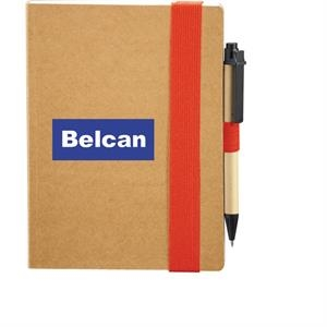 The Eco Perfect Bound Notebook And Pen