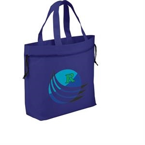 The Shell - Cinch Tote With Open Main Compartment And Drawstring Closure