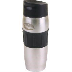 Roller - Titanium - 14 Oz 18-8 Stainless Steel Vacuum Insulated Tumbler With Rubber Grip